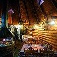 фото Отель Воеводино Закарпатье.Внутри колибы