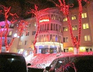 Отель Квелле Поляна Закарпатье.