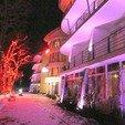 фото Отель Квелле Поляна Закарпатье. Вечерний отель