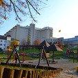фото Санатория «Карпаты» в Трускавце. Качели