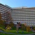 фото Санатория «Карпаты» в Трускавце. Балконы санатория