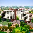 фото Отеля «Миротель» в Трускавце.Санаторий сверху
