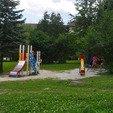 фото санатория Кристалл в Трускавце. Детская площадка