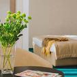 фото отель алькор. номер люкс. цветы