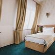 фото отель алькор. Стандарт одноместный. кровать