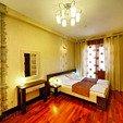 фото Санаторий Шале Грааль Трускавец. Номер 2-комнатный Апартамент (Comfort Apart). Кровать