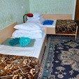 фото санатория Алмаз в Трускавце. Номер 1-комнатный Економ. Кровать