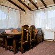 фото Отель ТАОР - Карпаты Сходница. Маленький семейный домик. Стол