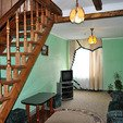 фото Отель «Ориана» в Трускавце. Номер 3-комнатный Люкс. Комната